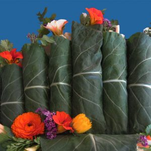 Tangy Dill Collard Wraps